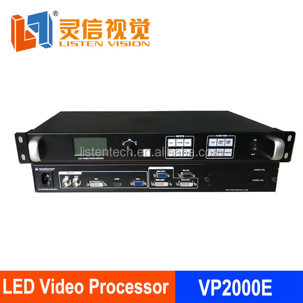 Wholesale full color led display use video processor LS-VP2000E from SHENZHEN indoor advertising led sign video processor