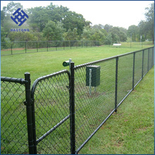 Playground Chain Link Fence With 75mm Diamond Mesh and 100mm Opening, 3.6mm Diameter