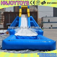 HNJOYTOYS Giant Inflatable Water Slides For Adult, Big Water Slide For Sale, Slip & Slide For Adult
