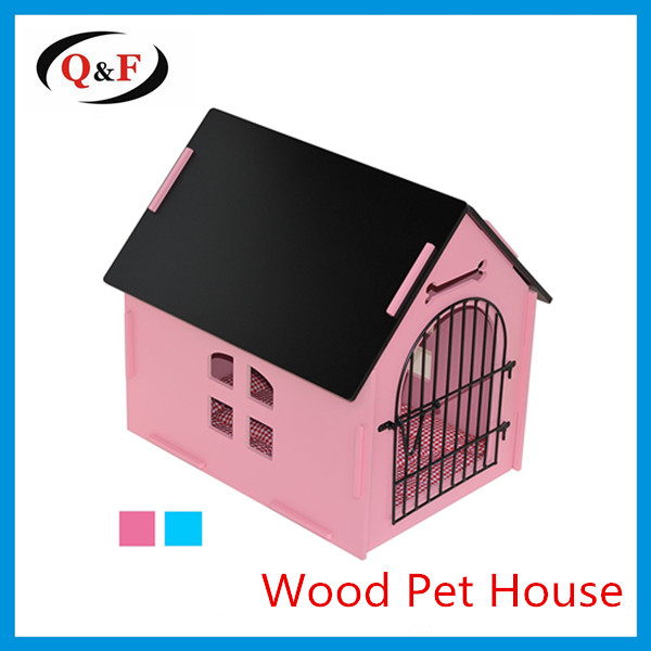 Amazon cheap portable pet bed wooden dog house