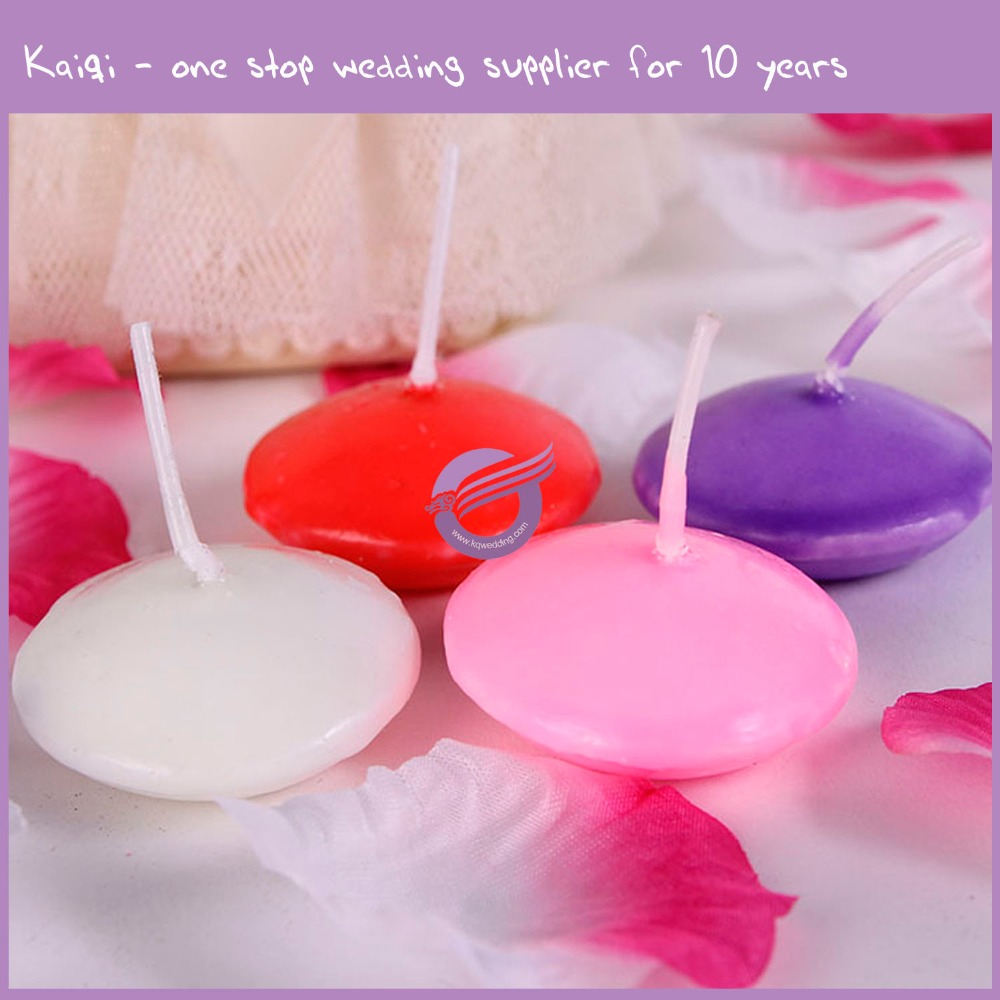 ZT01560 Water Activated Floating Candles, Handmade Floating Candle, Personalized Floating Candle