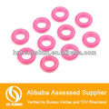 Custom Food grade Transparent Silicone Flat grommet