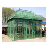 Hot Sale Agricultural Or Garden Low Cost Glass Green house for Sale