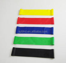 China Supplier Custom Printed Bulk Resistance Bands Sports Exercise Resistance Loop Bands