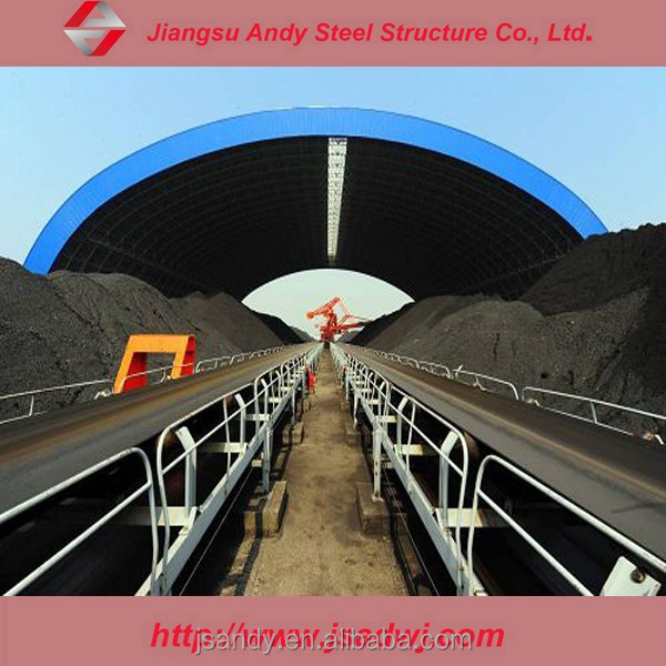 Steel building system,high quality space frame coal storage