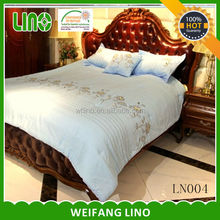 hotel use luxury patchwork bedding sets handmade embroidery bedding set with pillowcases