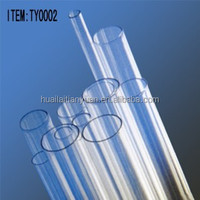China factory cheap price borosilicate 3.3 tube clear glass tubing for sale