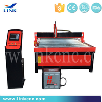 Carbon Steel Industry Plasma Cutter With Round rails 45A 2040/auto cad plasma cutting machine
