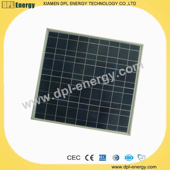 DPL-50W flexible poly solar panels manufacturer in china product TUV CEC CE MCS