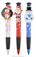 Christmas resin ballpoint pen Christmas tree snowman reindeer penguin ballpoint pen