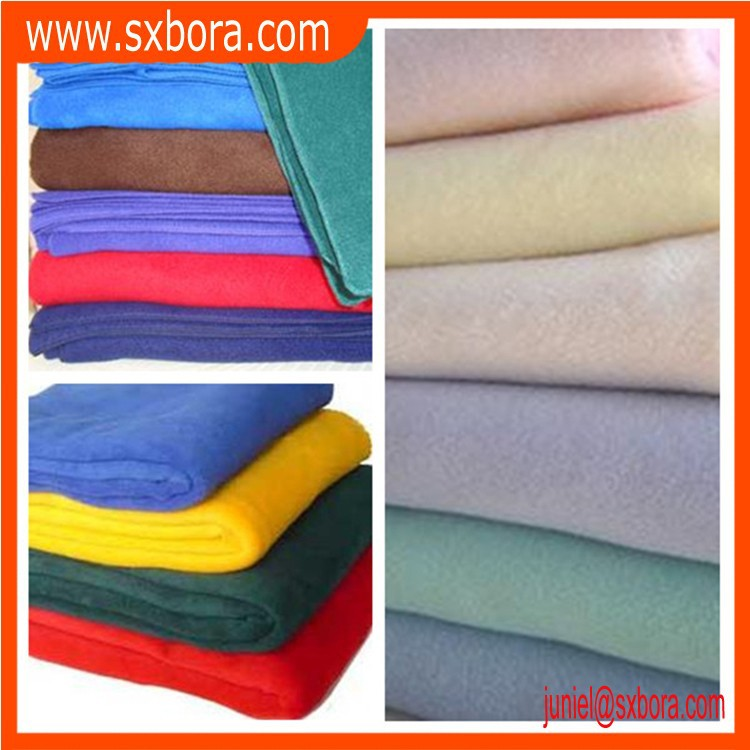 100% Polyester Plain dyed cheap polar fleece blanket