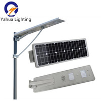 6W 8W 10W 15W 20W 30W 40W 50W 60W 70W 80W all in one led solar street light with motion sensor garden park