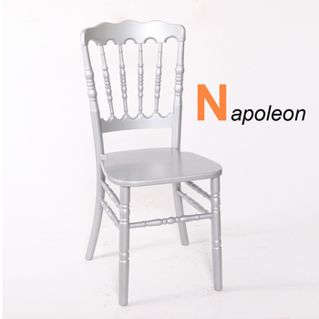 Commercial hotel  Wedding Banquet Wooden napoleon chair