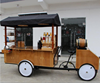 China Factory Supplier Solar Panels Green Power New Food Retailing Workshop on Four Wheels