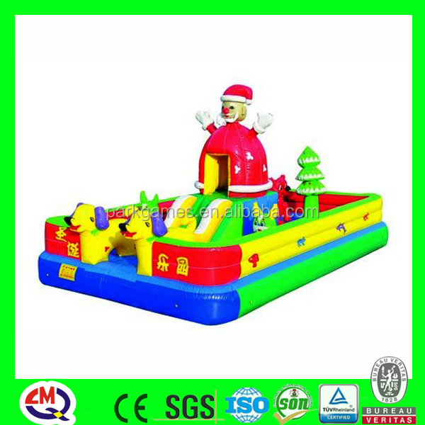 Hot sale inflatable outside amusement park playground fun city