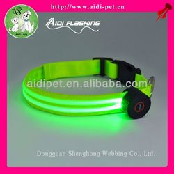 lighted dog collar/fancy dog collars small dogs