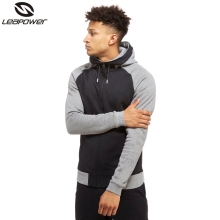 Wholesale custom factory price slim fit men casual plain hoodies for men