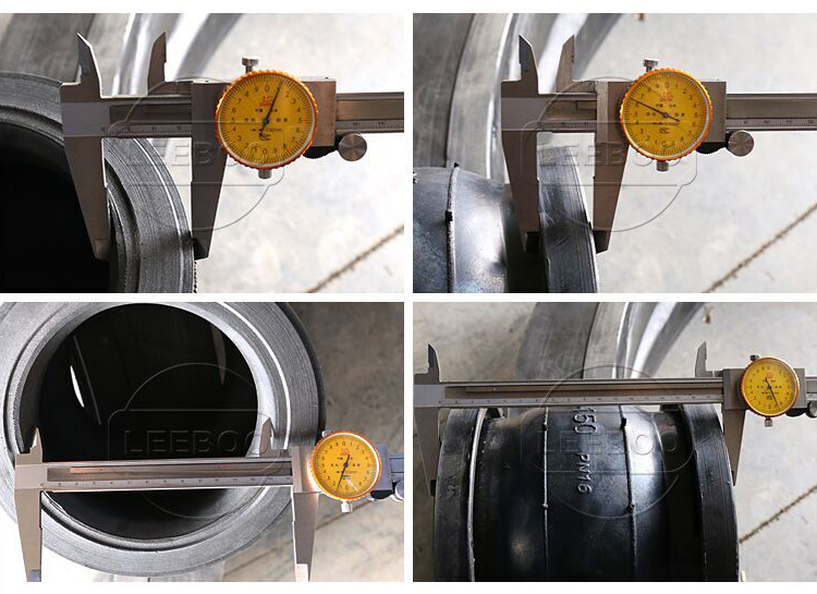 JGD rubber bellow expansion joint with stainless steel flange for pipeline