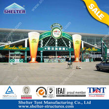 Harbin beer Sturdy Alu strucure event festival canopies for trade show, commercial activity, sports events tent