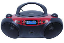 top vendita bluetooth portatile radio stereo portatile con lettore cd