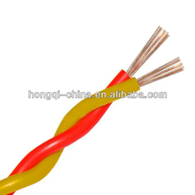 Low Voltage PVC Insulation Twisted Pair Electric Wire