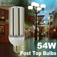 5700lm 360 degree UL avaliable 54w led garden lamp e40 base