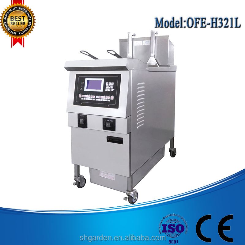 OFE-H321L Electric auto truck namkeen deep fryer