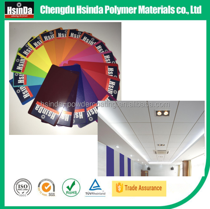 ral 9016 milky white thinner paint coating for Ceiling paneling
