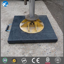 plastic uhmwpe crane outrigger pad
