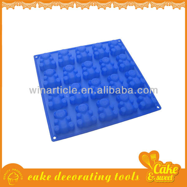 hot sale silicon soap mould for baking