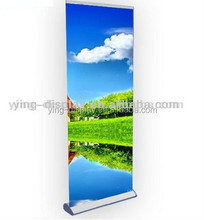High quality advertising retractable roll up green screen