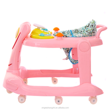 modern metal car shape plastic baby walker