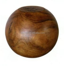 hot sale teak wood ball