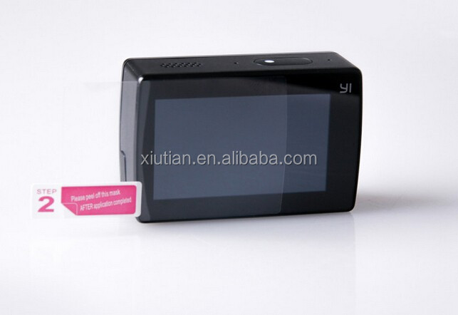 High Transparent LCD Screen Protector for Xiaomi Yi 2 II Waterproof Housing Case Lens Protective Film