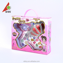 Fashion kid pretend pretty gift plastic toy kids makeup sets