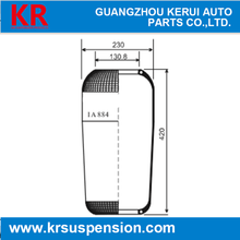 Bus spare parts automatical air bellow airbag spring suspension for Mercedes iveco man renault W01-095-0295