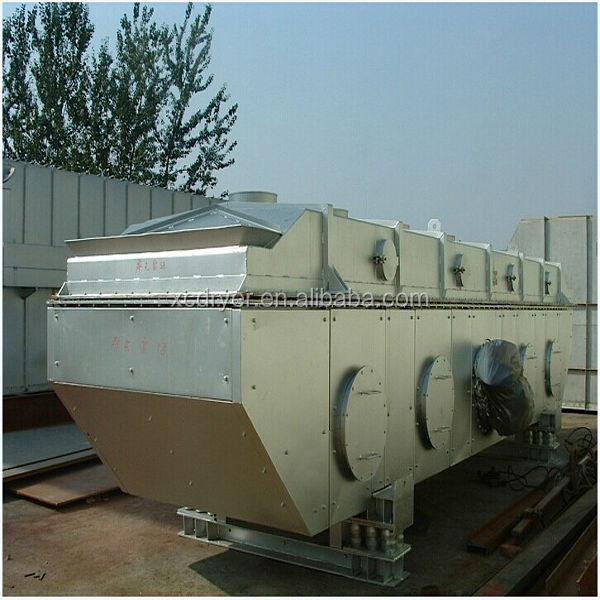 vibrating fluid bed dryer for PP/PET