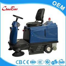 Large power Pavement roller brush sweeper sweeping machine