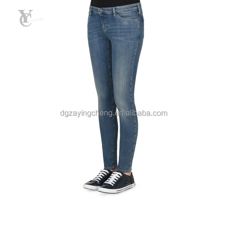 2017 new fashion ladies jeans kurta slim fit skinny jeans, five pocket women pants for tops and jeans photos