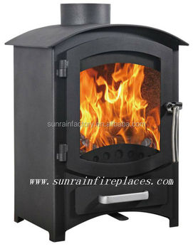 steel plate modern wood burning stove(DL008L)