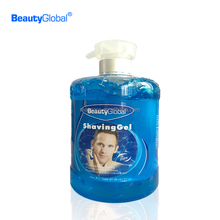 China cosmetics factory OEM high quality no foam shaving gel for men