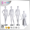 White Full Body Mannequin Fashion Glossy