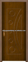 2013 NEW Interior PVC Door 6mm laminated MDF Board for home design