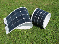 High efficency SUN POWER 100 watts fabric folding solar panel, cloth foldable solar panels