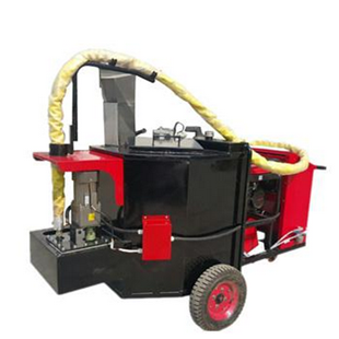 Asphalt road crack sealing machine crack filler with 100L hot melt kettle