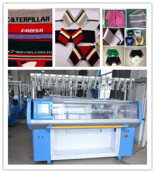 Fully Jacquard Computerized T-Shirt Collar Knitting Machine