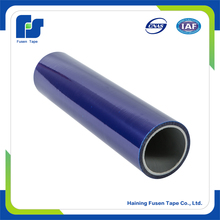 Blue plastic film stainless steel surface protection for furniture