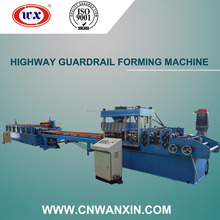 Round gutter downspout Highway Guardrail machine cold roll forming Machine