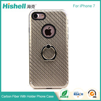 New Launch Mobile Accessories Phone Case 2017 Carbon Fiber Case for iphone7