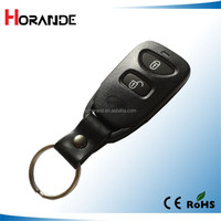 Replacement remote key cover for hyundai 2 button remote key shell with battery holder elantra key